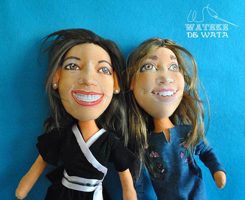 muñecos personalizados 3d hechos a mano