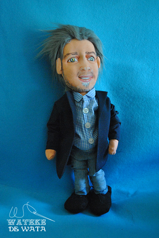 muñecos personalizados de trapo, con tu cara