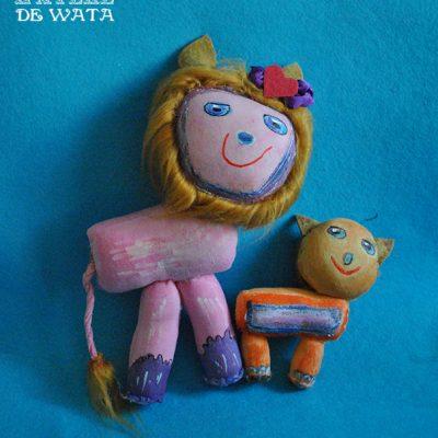 muñecos personalizados de trapo para bebés