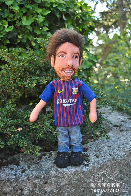 muñecos de futbol personalizados con tu foto