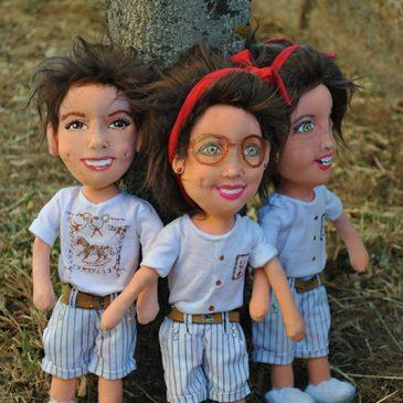 muñecos retrato personalizados baratos
