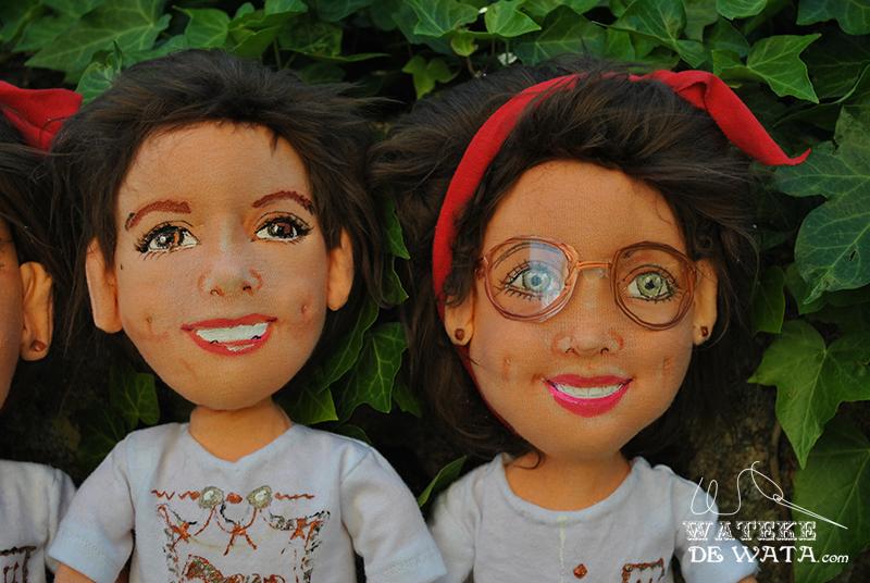 muñecos personalizados hechos a mano, con tu cara