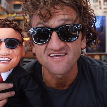 muñeco de trapo personalizado de Casey Neistat