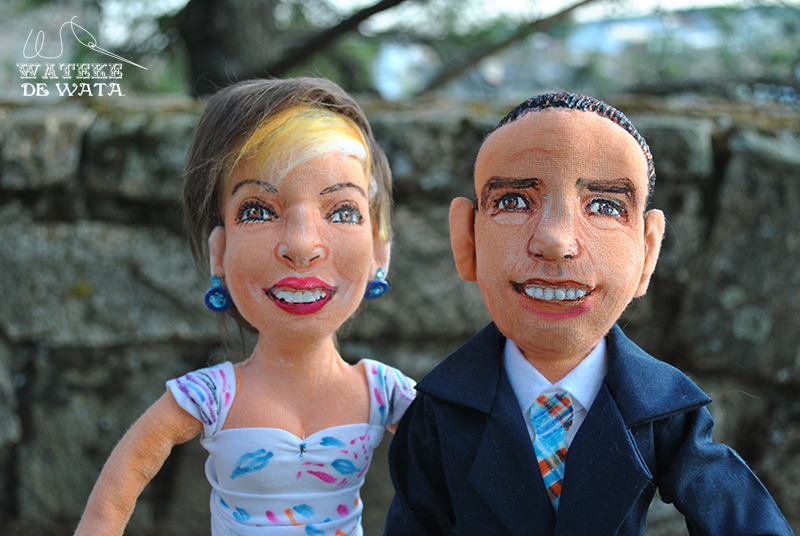 muñecos tarta boda personalizados económicos