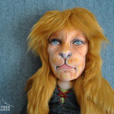 muñecos personalizados Bella y Bestia con tu cara de trapo hechos a mano