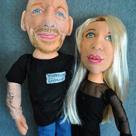 muñecos personalizados de trapo con tu cara