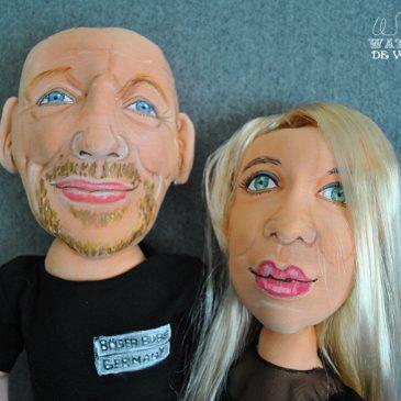 muñecos personalizados hechos a mano de novios