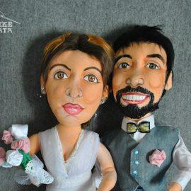 comprar muñecos personalizados boda a partir de fotos