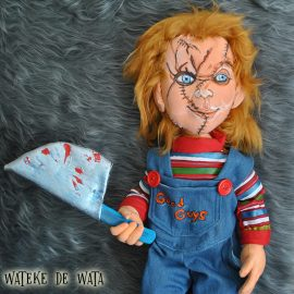 comprar muñeco Chucky con tu cara tamaño real, peluches de personas